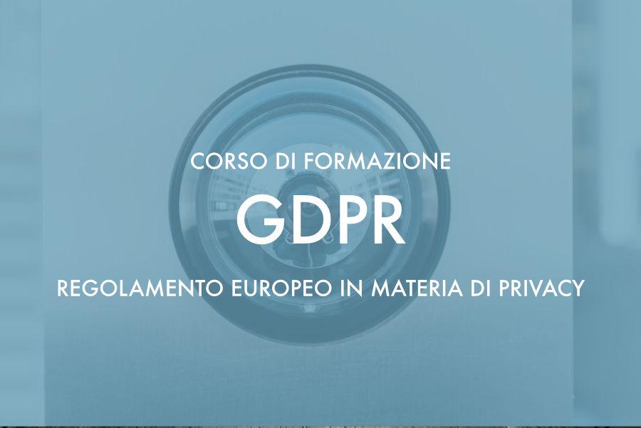 Corso sul Regolamento Europeo in materia di Privacy – Nuoro 12 e 13 Luglio 2018
