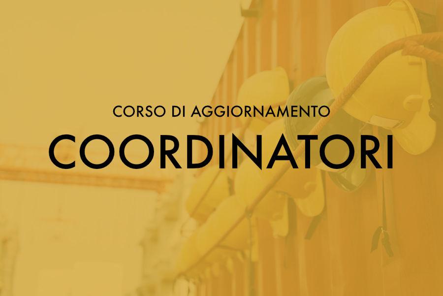 Corso di Aggiornamento per Coordinatori – Sassari marzo 2018